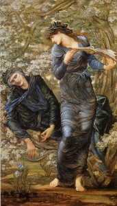 The Beguiling of Merlin, by Edward Coley Burne-Jones. 1874