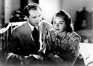 Paul Henreid and Ingrid Bergman, in Casablanca.