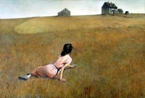 Christina's World, by Andrew Wyeth. 1948.