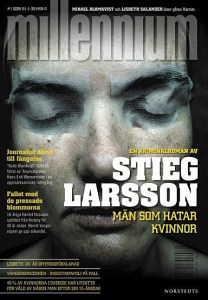 The Girl With the Dragon Tattoo, by Stieg Larsson. Swedish First Edition.