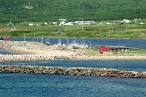 Belle Côte Wharf. Cape Breton, Nova Scotia. Photo by Doreen LeBlanc
