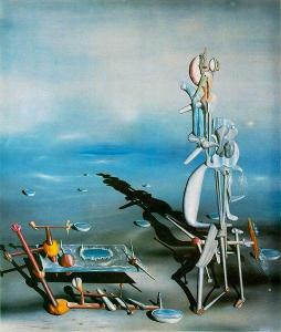 Yves Tanguy's Indefinite Divisibilty. 1943