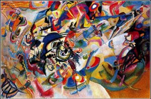 Composition VII, by Kandinsky. 1913