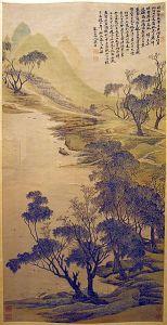 Spring Comes to Lake Shanghai, by Wu Li. 17th Century
