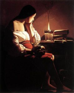 Georges de La Tour's Magdelen and the Smoking Flame. 1640