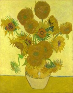 Sunflowers. By Vincent Van Gogh. 1888