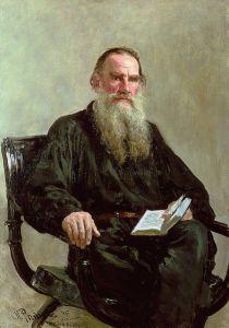Leo Tolstoy, by Ilya Repin. 1887