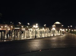 Emirates Palace - fountains (right).
