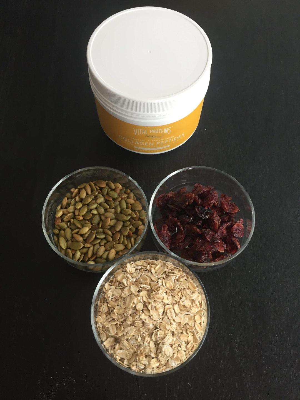 Vital Proteins Oatmeal Ingredients