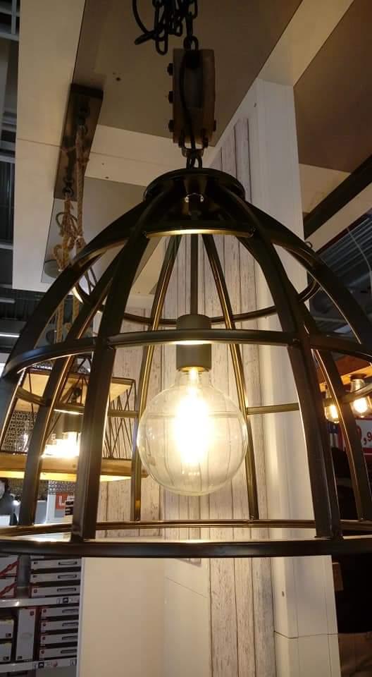 Lampada a sospensione stile industriale - Leroy Merlin