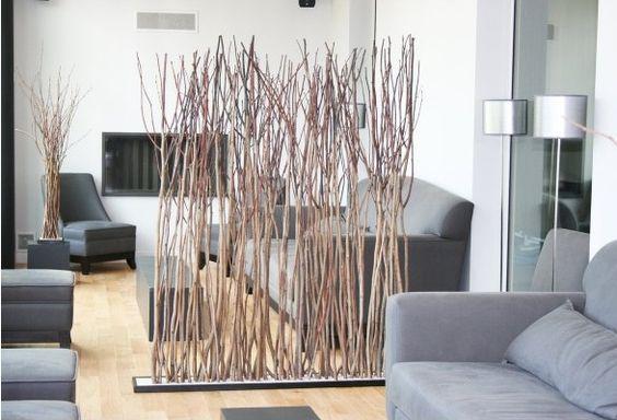 come dividere una stanza senza opere murarie: il paravento