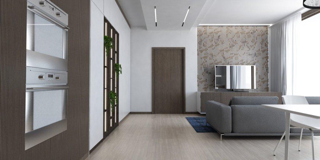 dividere un open space : controsoffitto e tagli luminosi