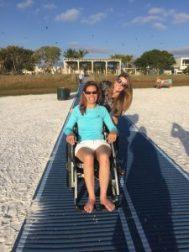 mobimat wheelchair accessible siesta key beach