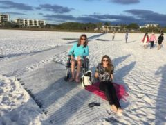 mobimat wheelchair accessible siesta key beach florida