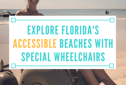 explore florida accessible beaches special beach wheelchairs