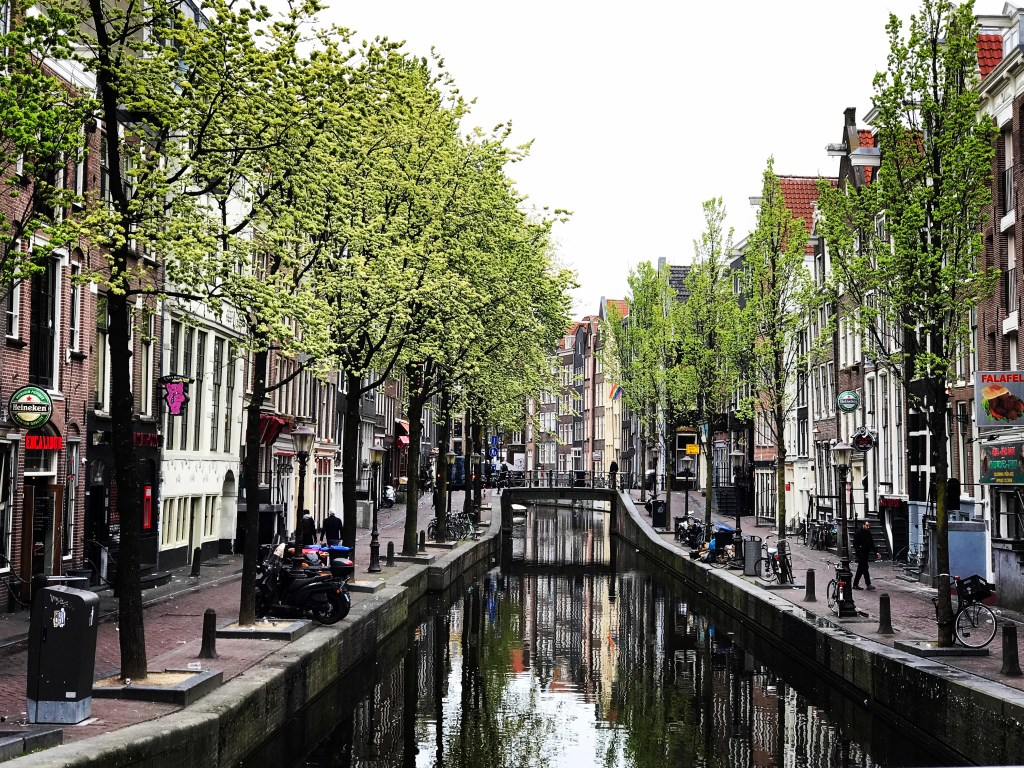 A Wheelchair User's Guide to Amsterdam