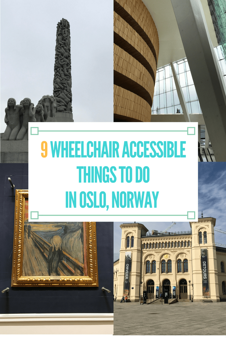 9 Wheelchair Accessible Things to Do in Oslo