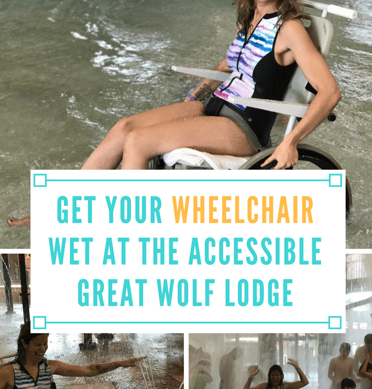 Get Your Wheelchair Wet at the Accessible Great Wolf Lodge