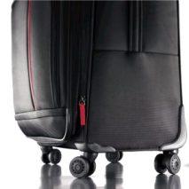 suitcase spinner wheels wheelchair travel hacks