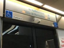 singapore metro MRT wheelchair accessible