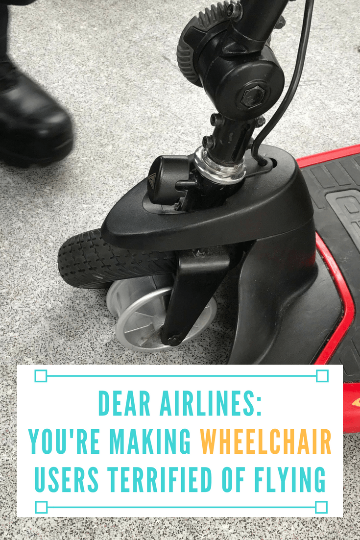 Dear Airlines: You're Making Wheelchair Users Terrified of Flying