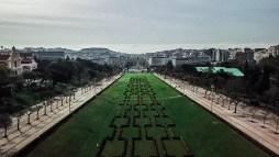parque eduardo vii lisbon portugal