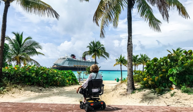 wheelchair accessible castaway cay disney dream