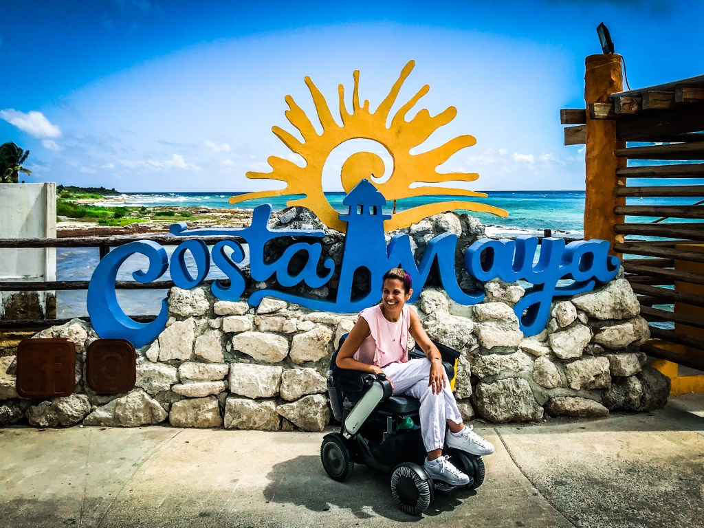 Cruise Port of Call Wheelchair Accessibility Review: Costa Maya, Mexico