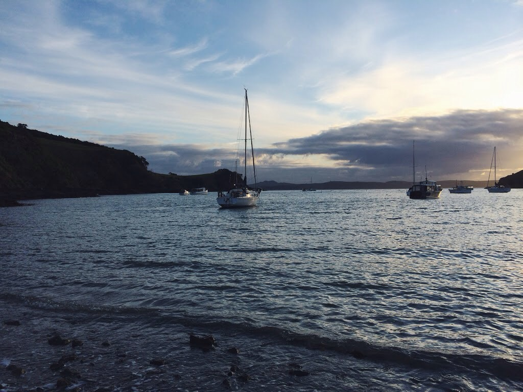 Waiheke Island - Working Holiday Visa in New Zealand - spinthewindrose.com