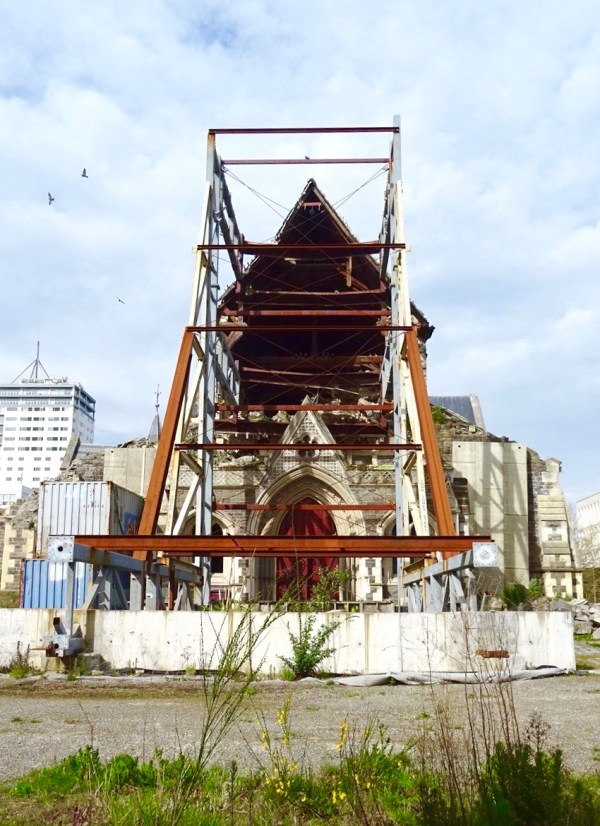 Christchurch Cathedral in October 2015