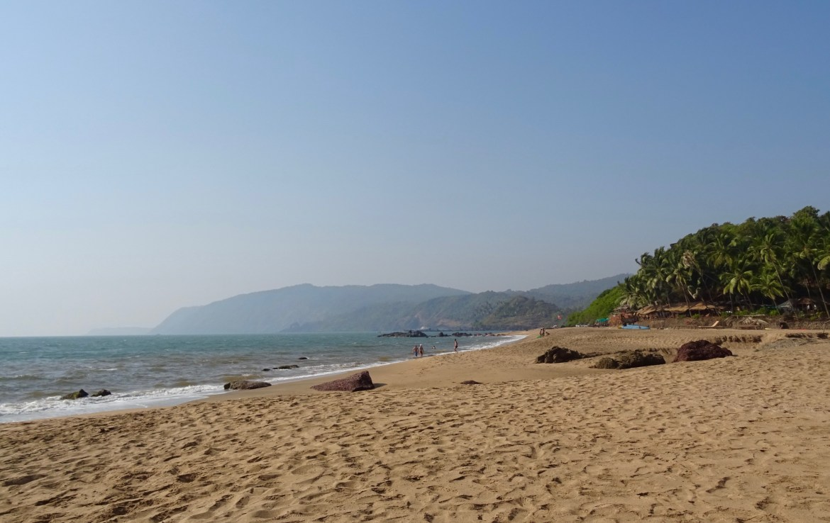 Cola Beach in Goa is a hidden treasure