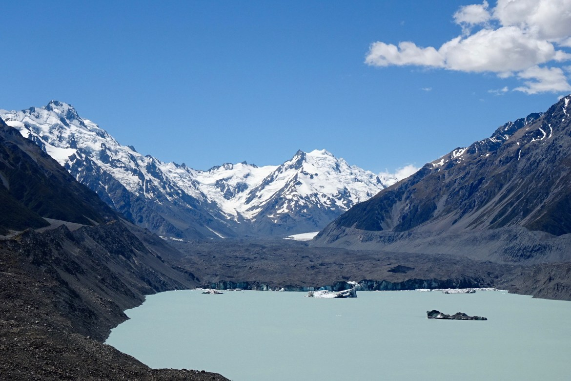 Tasman Glacier, Aoraki/ Mount Cook National Park - spinthewindrose.com