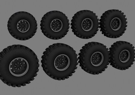 Tattoo's Ground Hawg Wheels Pack