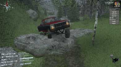KentBobo Spintires Map - Dodge RamCharger