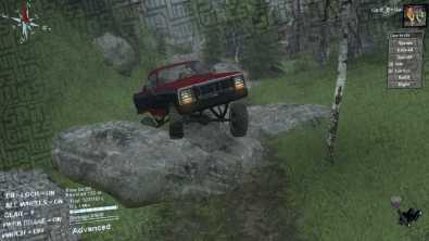 KentBobo Spintires Map - Dodge RamCharger
