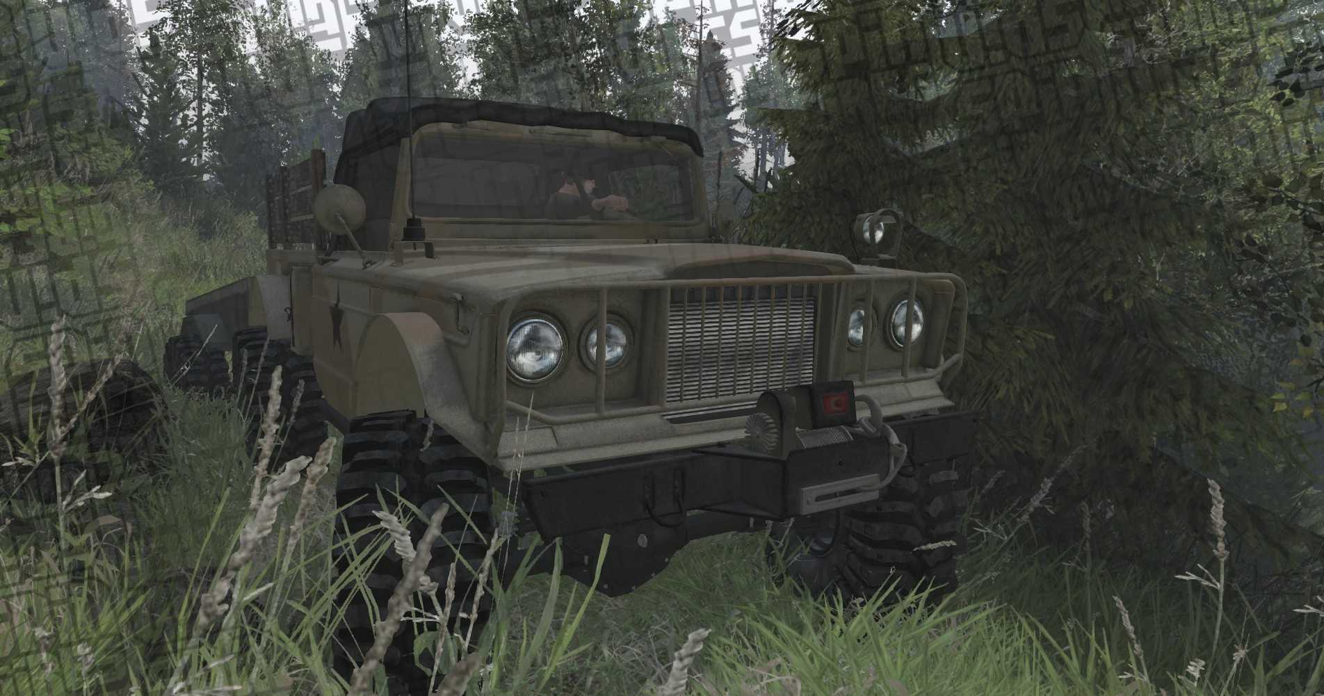 Spun Jeep Kaiser