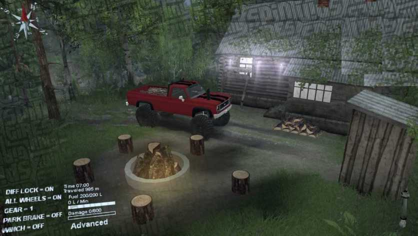 Dirt Time Map - Spintires