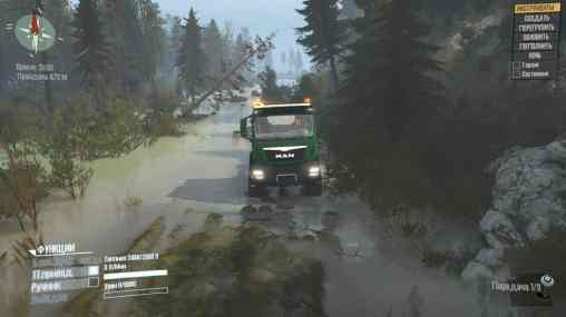 Siberian Nature Map MudRunner 2 Mods 3