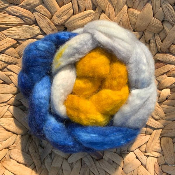 Image of BFL / kid mohair
