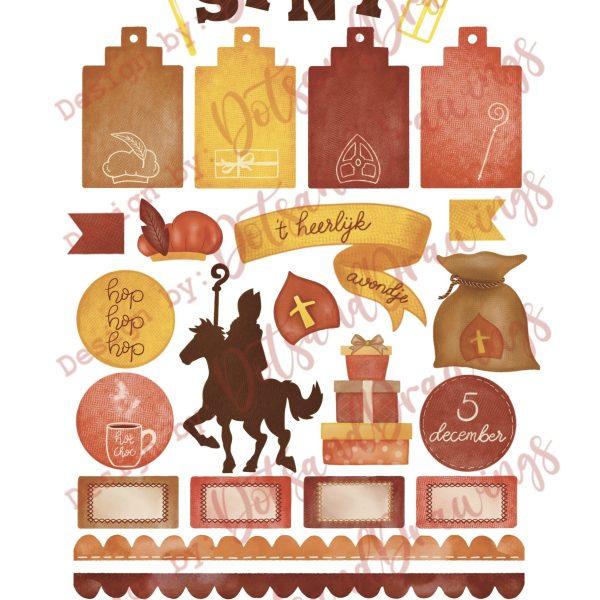 Plaatje van Printable Sinterklaas Collectie