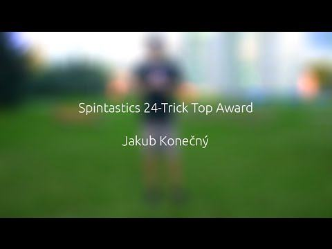 Spintastics 24-Trick Top Award – Jakub Konečný