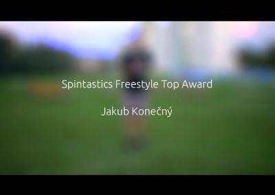 Spintastics freestyle award patch video application by J. konecny