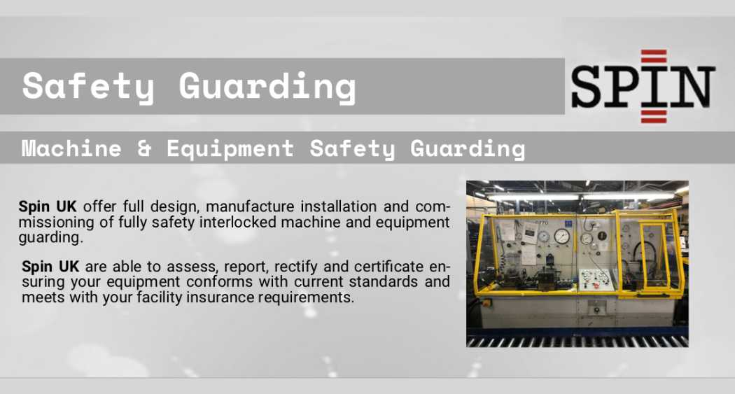 Machine and Equipment Safety Guarding Brochure
