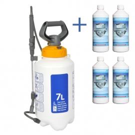 Combinatie Aanbieding : 4 liter Cleanweb met een Hozelock 7 liter drukspuit