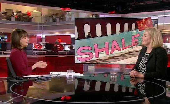 Fracking industry and resigning tsar Natascha Engel hit full media spin cycle on quake rules