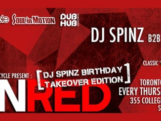 Run Red - June 12 - dj Spinz Takeover