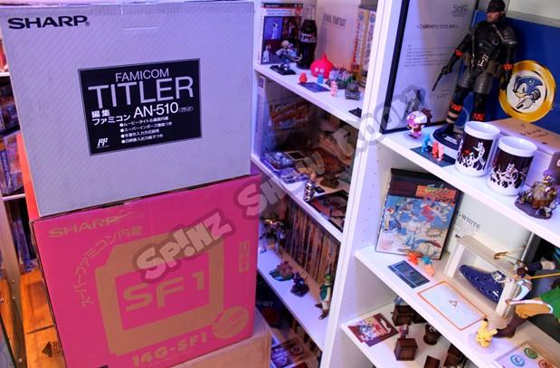 Famicom Titler & Sharp TV