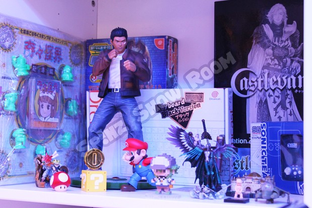 Shenmue Statue, Dreamcast Super Black Keyboard, etc
