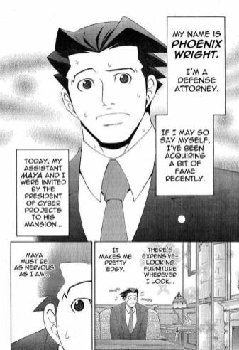 Manga The Ace Attorney