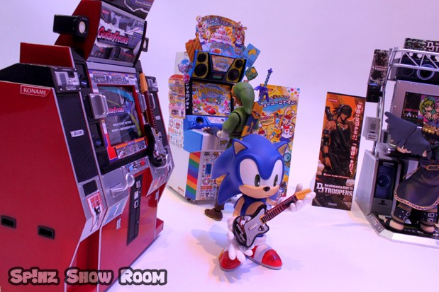 Sonic & Link @ GuitarFreaks & Pop'n Music
